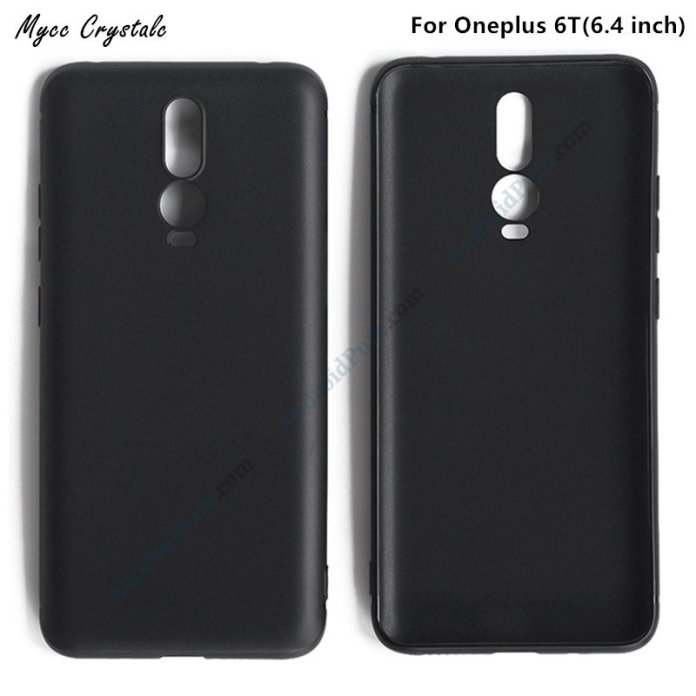 Oneplus 6T a Exclusive: OnePlus 6T cases reveal triple camera, waterdrop display 1