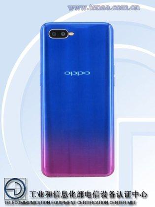 OPPO K1 Official Oppo K1 Render confirms In-Display Fingerprint and waterdrop display 3