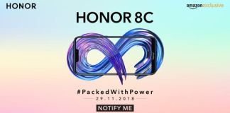Honor 8C India launch date