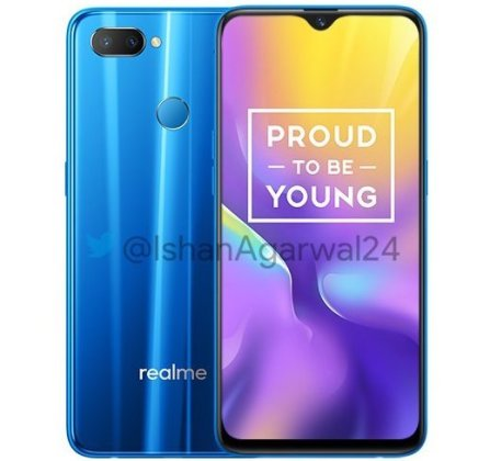 Realme U1 blue Realme U1 with 6.3-inch FHD+ waterdrop display, 25MP selfie camera launched in India starting at Rs. 11,999 4