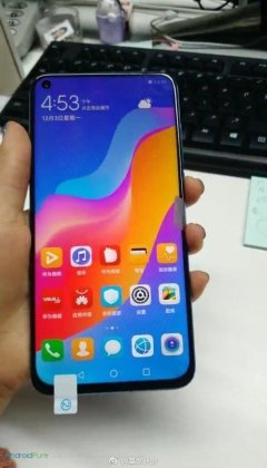 Huawei Nova 4 g Huawei Nova 4 real images leaked ahead of the launch 5 Leaks | News | Phones