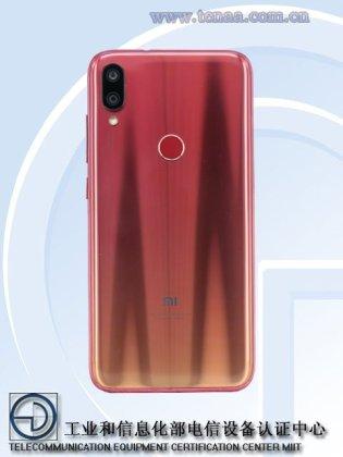 Xiaomi Play TENAA
