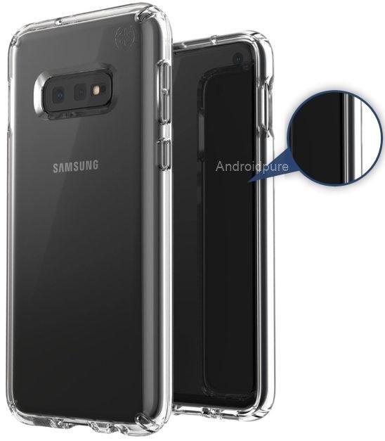 Galaxy S10 leaked case render S10E bezels