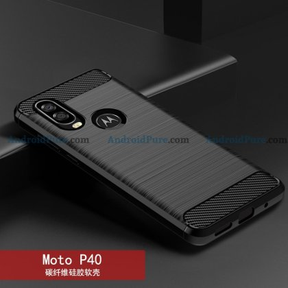 Moto P40 e Moto P40 Case Renders confirm the punch hole camera and earlier leaks 16