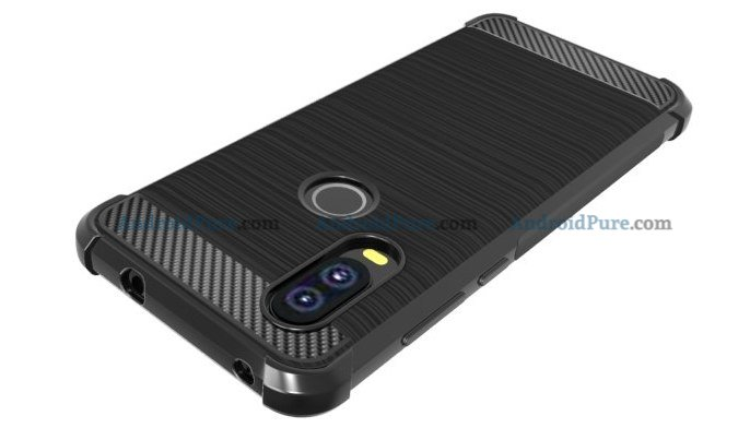 Moto P40 o Moto P40 Case Renders confirm the punch hole camera and earlier leaks 5