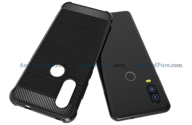 Moto P40 q Moto P40 Case Renders confirm the punch hole camera and earlier leaks 3
