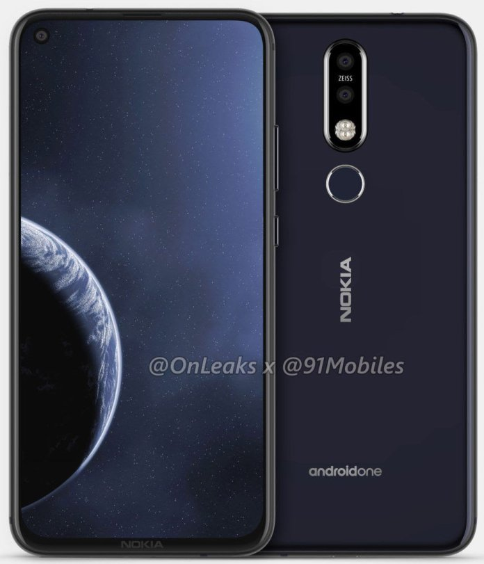 Nokia 8.1 Plus leaked renders