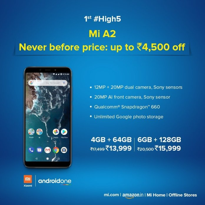 Xiaomi Mi A2 price drop Xiaomi Mi A2 price drop makes it more affordable, but is it still worth buying? 1