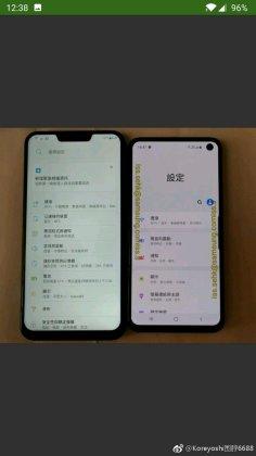 Galaxy S10e f Samsung Galaxy S10e live images leak ahead of launch 1