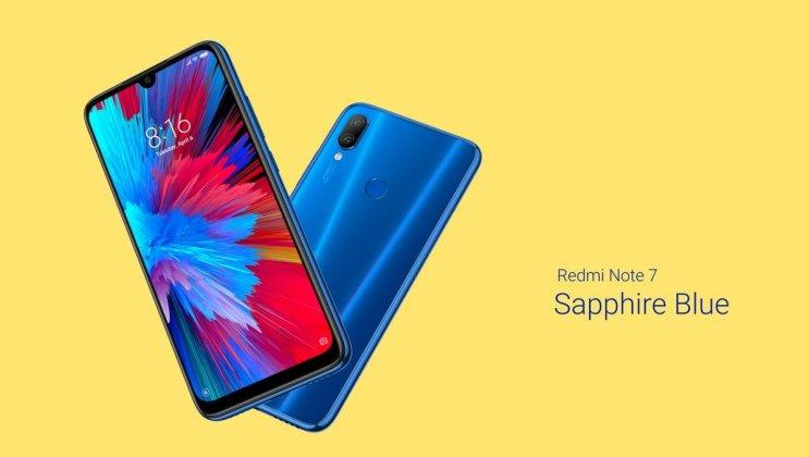 Redmi Note 7 Sapphire Blue Redmi Note 7 Pro: No more flash sale, Available on Open Sale 1
