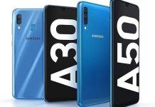 Samsung Galaxy A30 and Galaxy A50