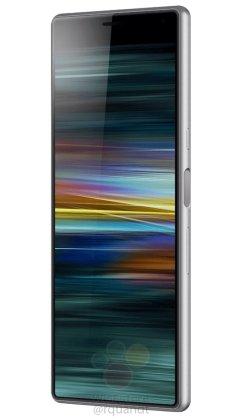 Sony Xperia XA3 leaked renders