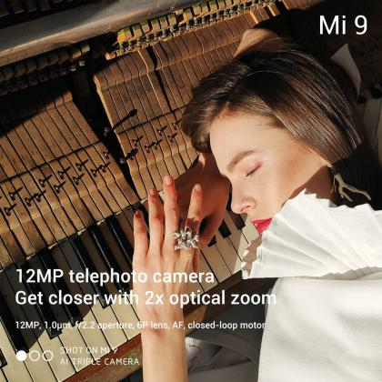 Xiaomi Mi 9 tech specs 12MP camera