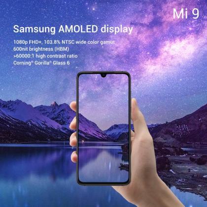 Xiaomi Mi 9 tech specs display