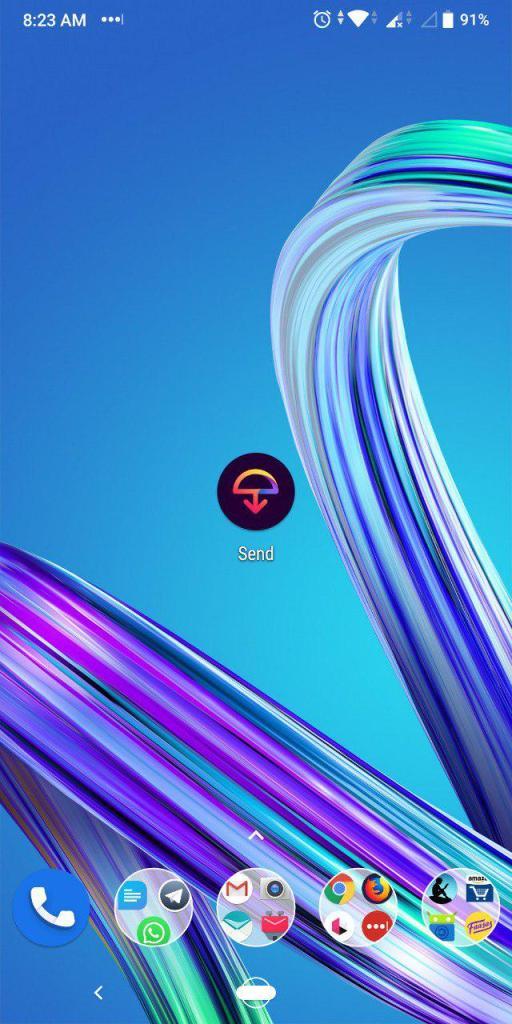 Firefox Send icon