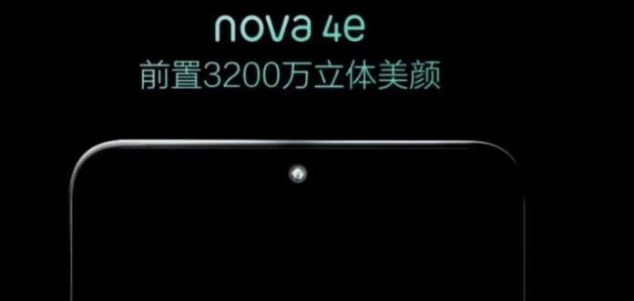 Nova 4e 32MP selfie camera Huawei Nova 4e with 32MP selfie camera to launch on 14th March 1