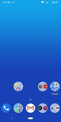 Android Pie Update for ASUS Zenfone Max Pro M1 pill icon bug