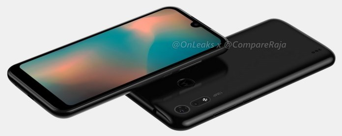 Moto P40 Play leaked renders