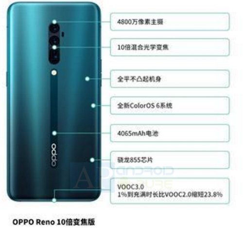 Oppo Reno Specs Oppo Reno Specifications leak ahead of official launch 1