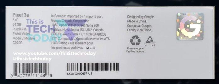 Google Pixel 3a price
