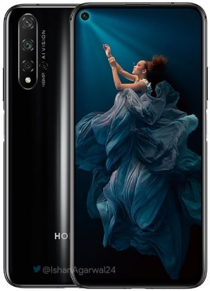 Honor 20 leaked