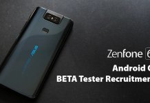 ASUS ZenFone 6 Android Q Beta
