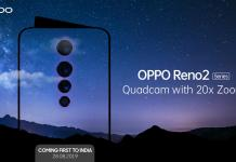 Oppo Reno 2 specs leaked