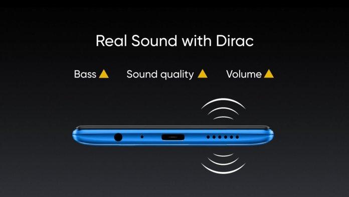 Realme 5 Pro audio