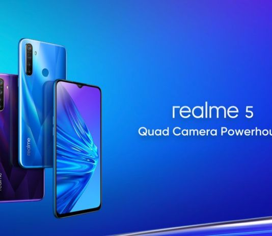 Realme 5 display