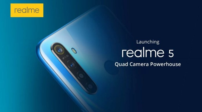 Realme 5 fingerprint scanner