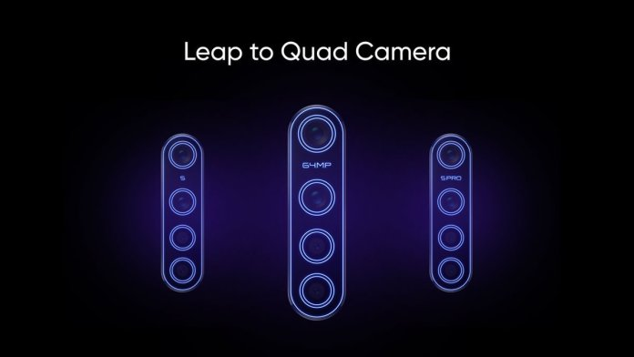 Realme 64MP camera phones