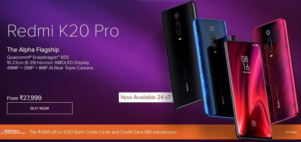 Redmi K20 Pro open sale