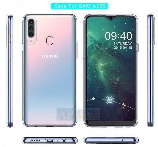 Samsung Galaxy A20s Case Exclusive: Samsung Galaxy A20s Renders, Specifications leak; confirm triple camera 4 Leaks | News | Phones