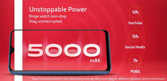 Vivo U10 Battery