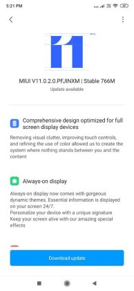 Miui 11 update for redmi k20 what's new 1