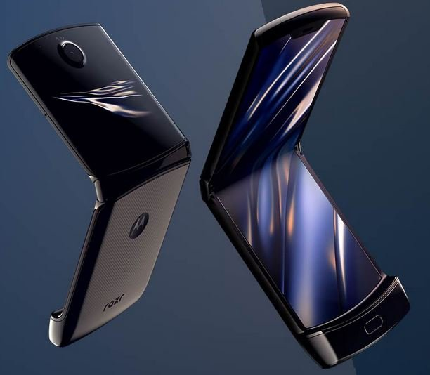 Moto razr 2019 foldable phone