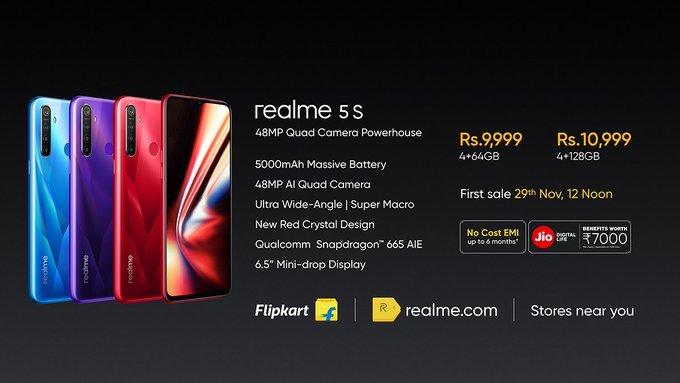 Realme 5s Price and Specs