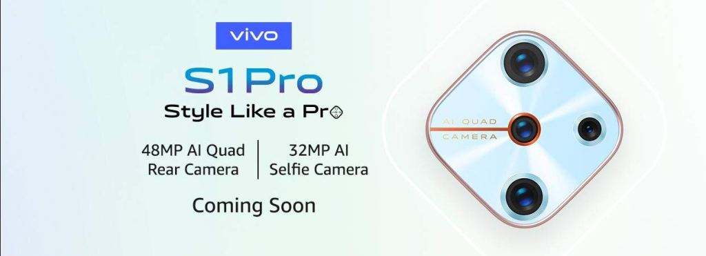 Vivo S1 Pro India Launch Date