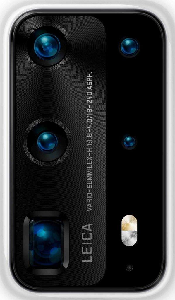 Huawei P40 Pro leaked renders camera