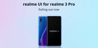 Realme 3 Pro Android 10 Update with Realme UI