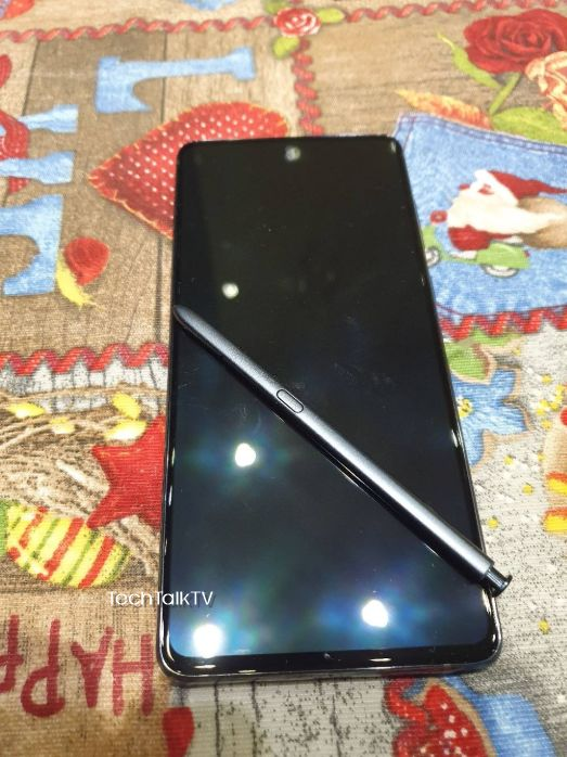 Samsung Galaxy Note10 Lite Real Life Photos Leaked 4
