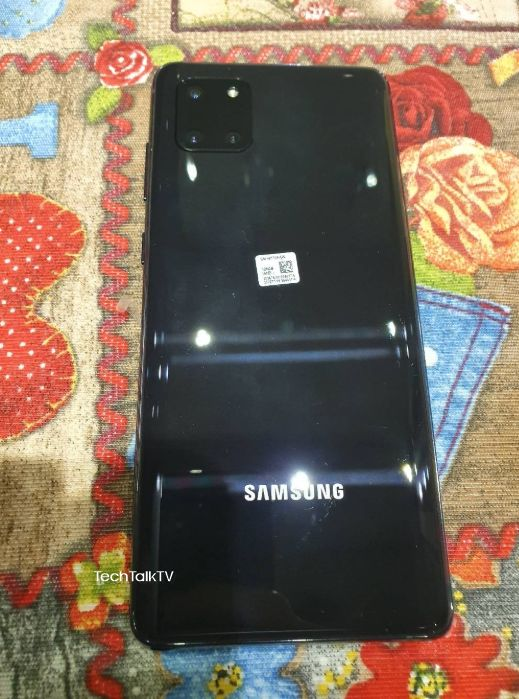 Samsung Galaxy Note10 Lite Real Life Photos Leaked