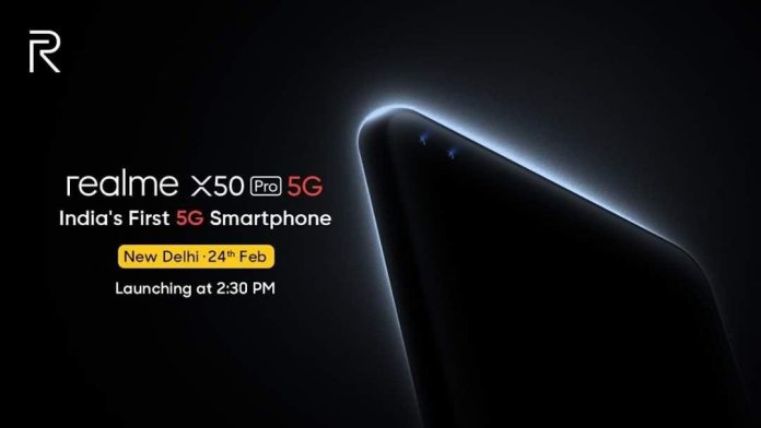 Realme X50 Pro 5G Launch Date India