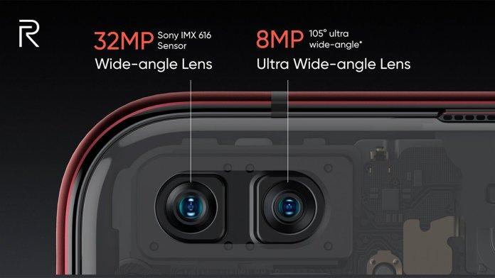 Realme x50 pro selfie cameras