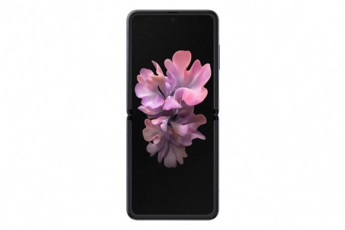 Samsung Galaxy Z Flip open
