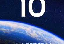 Xiaomi Mi 10 launch date