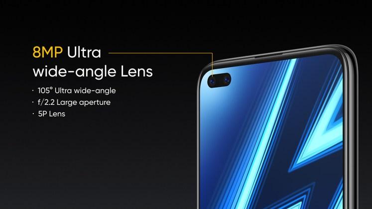 Realme 6 Pro selfie cameras 2