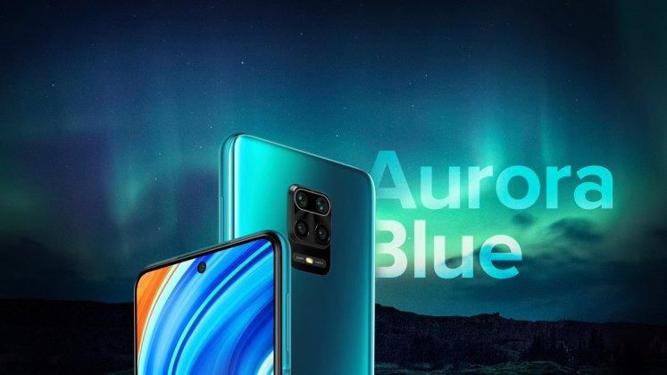 Redmi Note 9 Pro Max Aurora Blue