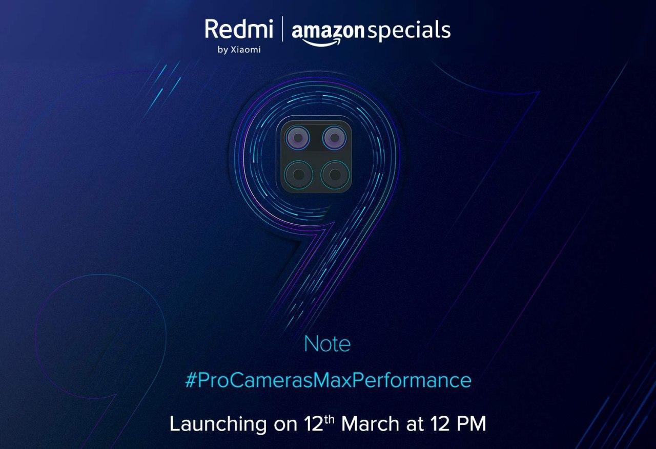 Redmi Note 9 Pro launch India - AndroidPure