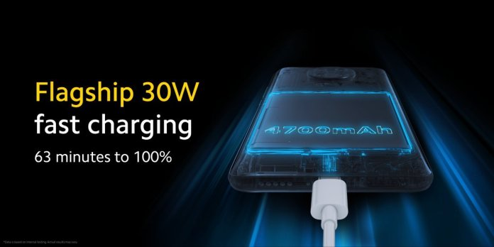 Poco F2 Pro Fast Charging